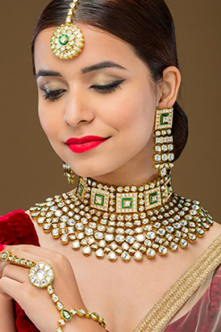 Kundan-Polki Necklaces
